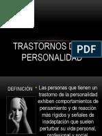 Tyrastornos de La Personalidad Tipo a b c