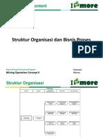 1. Struktur Organisasi Dan Bisnis Proses