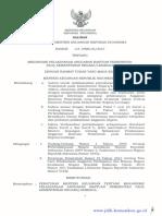 PMK 168 Tentang mekanisme pelaksanaan anggaran bantuan pemerintah.pdf
