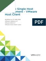 Vsphere HTML Host Client 125 Guide
