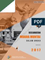 Kecamatan Muara Muntai Dalam Angka 2017