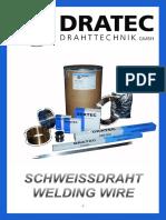 Catalogo Electrodo Dratec