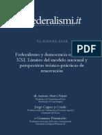 Federalismo y Democracia en El Siglo XXI