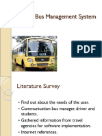 College Bus Management System