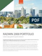 Product Brochure RADWIN
