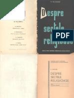 P.Nicoara - Despre Sectele Religioase(1962)