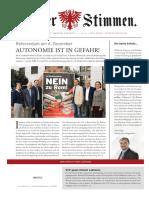 Tiroler Stimmen 3-2016
