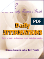 Daily Affirmations - The Godly Woman's Guide (1)