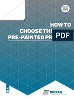 Isopan - How to Choose the Right Pre-painted Product