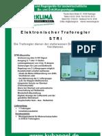 elektronischer - Traforegler STRI