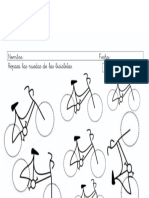 grafomotricidad bicicletas