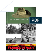 Anzac Forces in the Pacific