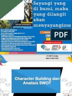 Character Building Dan Analisis SWOT