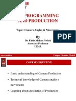Tvpp- Camera Angles and Shots Ppt