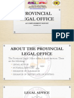 Provincial Legal Office
