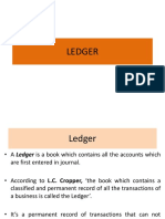 Ledger by Dr. Ashok Panigrahi