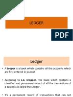 Ledger by Dr. Ashok Panigrahi