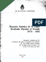 MEMORIA Gestion LLerena Amadeo 76 a 81