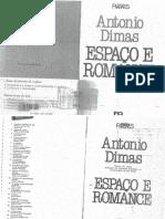 Antonio Dimas - O Espaço e o Ramance