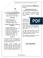Simulado - DetranMA2018