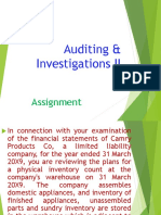 4. AC414 - Audit and Investigations II - Assignment