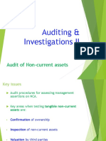 4. AC414 - Audit and Investigations II - Audit of Non-current Assets