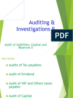 10. AC414 - Audit and Investigations II - Audit of Payables, Capital and Reserves II