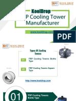 FRP Cooling Tower Manufacturer in Delhi