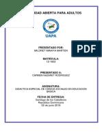 Tarea IV Didactica IV de Ciencia Sociales(Lista 123)