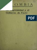 Documnentos Sobre La Separacion de Panama