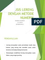 313151046-Analisis-Lereng-Dengan-Metode-Numerik-Handika-Nugraha-212150018.pptx