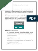 Operaciones Con Los Datos (N-pdu N-idu)