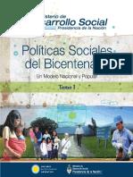 Políticas Sociales Del Bicentenario (Tomo I)