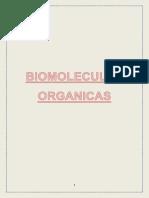 BIOMOLECULAS ORGANICAS