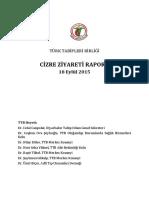 Cizre Ziyareti Raporu (4-12 Eylül 2015)