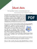 Jacques G Ruelland - Liberté Chérie