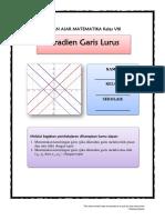 Bahan Ajar VIII- KD 3.4 Ind 2 Dan 3 - Gradien PGL
