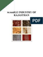 Marble Industry of Rajasthan