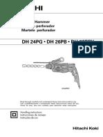 3. Martillo Perforador DH 26PB