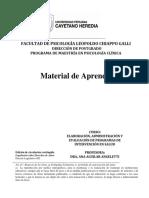 Material de Aprendizaje. Curso Elaboracion Administración y Evaluación de Programas Chiclayo Diciembre 2017 Original Corregido (003)