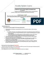 Faculty Update Training Course - Program Requirements - Packet.pdf