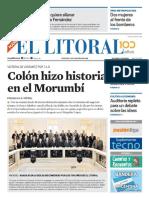 El Litoral Mañana 03-08-2018