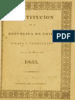 Constitucion de 1833