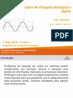 Aula 3 1 - Princípios de filtragem analógica e digital.ppt