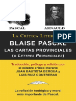 Blaise Pascal. Cartas Provinciales - Juan Bautista Bergua.pdf