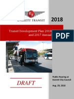 Everett Transit 2018 TDP - Draft