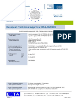 ETA 09 0295 for -05 Option 1 Approval Document ASSET DOC