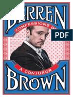 Derren Brown - Confessions of a Conjuror