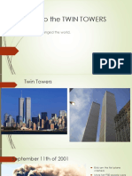Attack to the Twin Towers