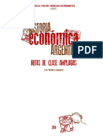 Notas de Historia Económica Argentina FCE UNC